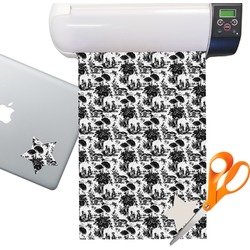 Toile Sticker Vinyl Sheet (Permanent)