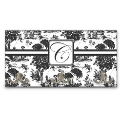 Toile Wall Mounted Coat Rack (Personalized)