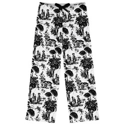 Toile Womens Pajama Pants (Personalized)