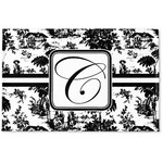 Toile Woven Mat (Personalized)