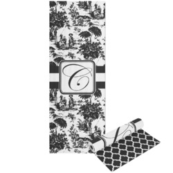 Toile Yoga Mat - Printable Front and Back (Personalized)