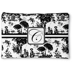 Toile Zipper Pouch (Personalized)