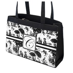 Toile Zippered Everyday Tote (Personalized)