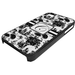 Toile Plastic 4/4S iPhone Case (Personalized)