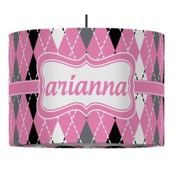 Argyle Drum Pendant Lamp (Personalized)