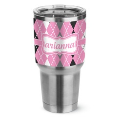 Argyle Stainless Steel Tumbler - 30 oz (Personalized)