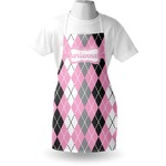 Argyle Apron (Personalized)