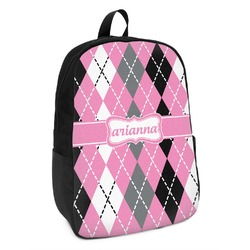 Argyle Kids Backpack (Personalized)