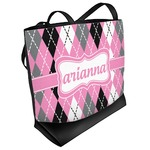 Argyle Beach Tote Bag (Personalized)