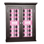 Argyle Cabinet Decal - Custom Size (Personalized)