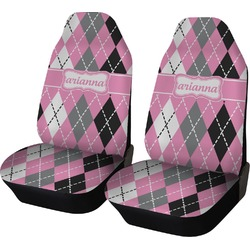 Argyle Car Seat Covers (Set of Two) (Personalized)