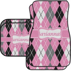 Argyle Car Floor Mats (Personalized)
