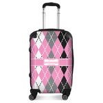 Argyle Suitcase (Personalized)