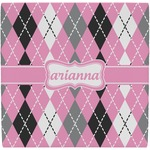 Argyle Ceramic Tile Hot Pad (Personalized)
