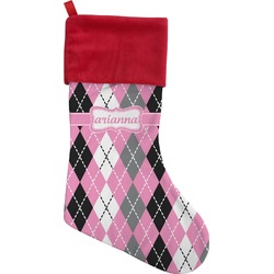 Argyle Christmas Stocking (Personalized)