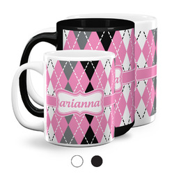 Argyle Coffee Mugs (Personalized)