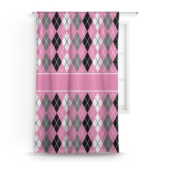 Argyle Curtain (Personalized)