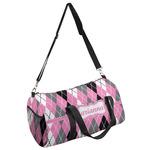Argyle Duffel Bag (Personalized)