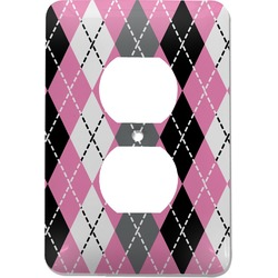 Argyle Electric Outlet Plate (Personalized)