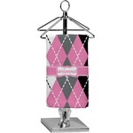 Argyle Finger Tip Towel - Full Print (Personalized)