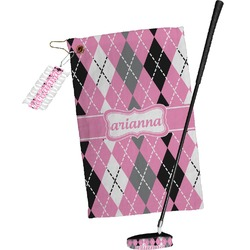 Argyle Golf Towel Gift Set (Personalized)