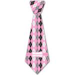Argyle Iron On Tie - 4 Sizes w/ Name or Text