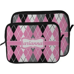 Argyle Laptop Sleeve / Case (Personalized)