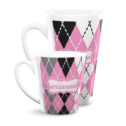 Argyle Latte Mug (Personalized)