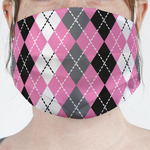 Argyle Face Mask Cover (Personalized)