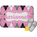 Argyle Memory Foam Bath Mat (Personalized)
