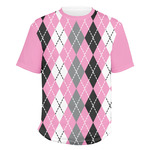 Argyle Men's Crew T-Shirt (Personalized)