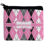 Argyle Rectangular Coin Purse (Personalized)