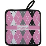Argyle Pot Holder (Personalized)