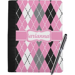 Argyle Notebook Padfolio (Personalized)