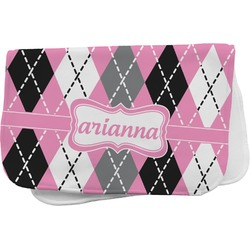 Argyle Burp Cloth (Personalized)