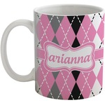 Argyle Coffee Mug (Personalized)