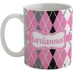 Argyle Coffee Mug (Personalized)
