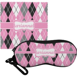 Argyle Eyeglass Case & Cloth (Personalized)