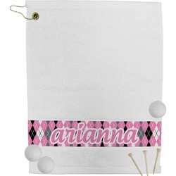 Argyle Golf Towel (Personalized)