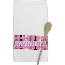 Argyle Kitchen Towel (Personalized)