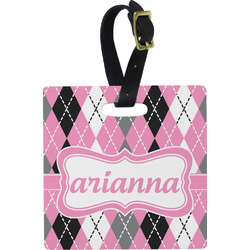 Argyle Luggage Tags (Personalized)
