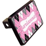 """Argyle Rectangular Trailer Hitch Cover - 2"""" (Personalized)"""