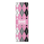 Argyle Runner Rug - 3.66'x8' (Personalized)