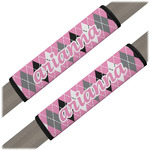Argyle Seat Belt Covers (Set of 2) (Personalized)