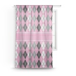 Argyle Sheer Curtains (Personalized)