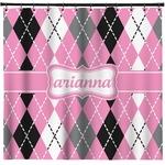 Argyle Shower Curtain (Personalized)