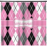 Argyle Shower Curtain (Personalized)