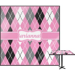 Argyle Square Table Top (Personalized)