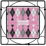 Argyle Square Trivet (Personalized)