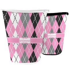 Argyle Waste Basket (Personalized)